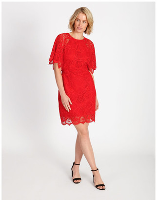 Wayne Cooper Lace Mini Dress