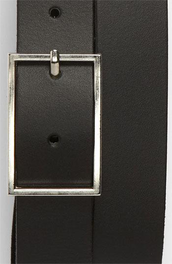 Topman Slim Classic Leather Belt