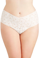 Hanky Panky Mellow Mornings Thong in Cream