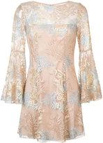 Jay Godfrey floral layer dress - women - Polyester - 2