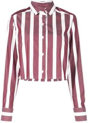 Dresshirt Ashley Striped Crop Top