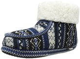 Muk Luks Women's Moc BT W/ Cuff- Swiss Fair Isle Boot
