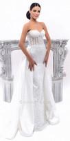 Tarik Ediz Esterella Evening Dress