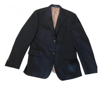 A Bathing Ape Blue Wool Jackets
