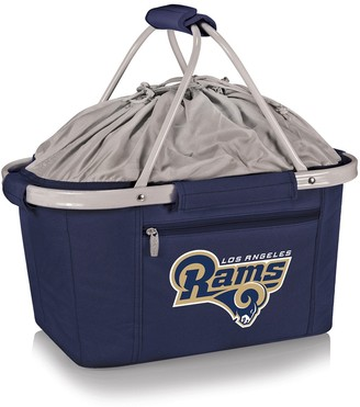 Picnic Time Los Angeles Rams Metro Insulated Picnic Basket