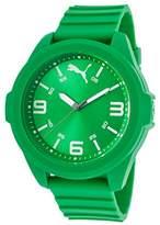 Puma Men's '91131' Quartz Plastic and Polyurethane Casual Watch