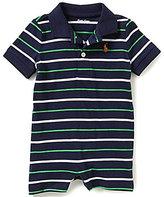 Ralph Lauren Baby Boys 3-12 Months Striped Shortall