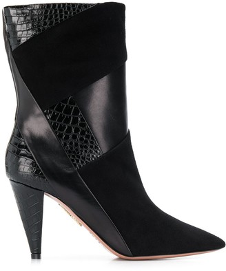 Aquazzura Pointed Toe Boots