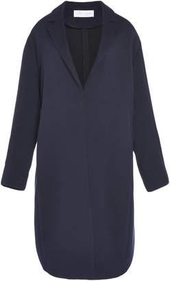 Victoria Victoria Beckham Bow Back Cotton-Blend Coat