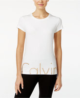 Calvin Klein Rhinestone Logo T-Shirt