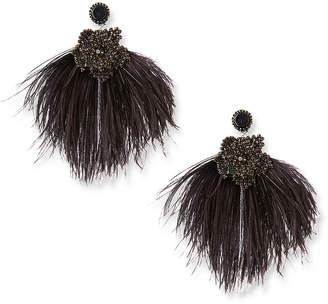 Ranjana Khan Large Feather Earrings