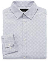 Van Heusen Long Sleeve Yarn Dyed Woven Dress Shirt - 8-20 Boys