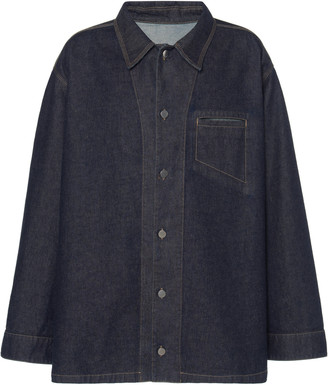 Bottega Veneta Oversized Denim Jacket