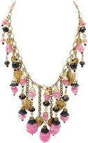 One Kings Lane Vintage Miriam Haskell Leaves Necklace