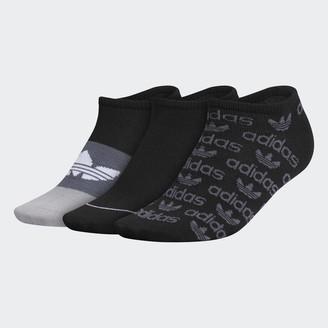 adidas Graphic No-Show Socks 3 Pairs