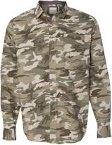 Weatherproof Vintage Camo Long Sleeve Shirt 154622 2XL