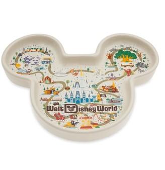Disney Mickey Mouse Icon Trinket Dish Walt World