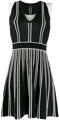 Pinko Two-Tone Design Dress