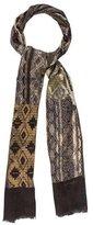 Etro Printed Cashmere-Silk Scarf