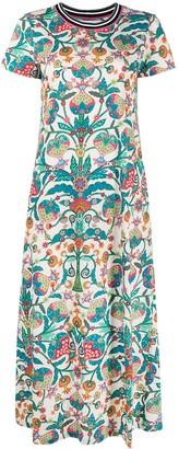 La DoubleJ Sporty floral print swing dress