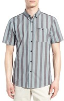Volcom Men's 'Carson' Trim Fit Stripe Woven Shirt