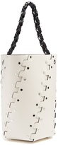 Proenza Schouler Hex stud-embellished leather bucket bag