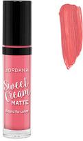 Jordana Sweet Cream Matte Liquid Lip Color - Strawberry Cheesecake