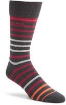 BOSS Men's 'Rs Design' Stripe Socks
