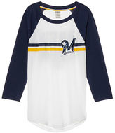 PINK Milwaukee Brewers Bling Perfect Baseball Tee