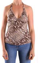 Just Cavalli Women's Multicolor Polyamide Tank Top.