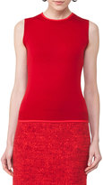 Akris Punto Sleeveless Knit Wool Top