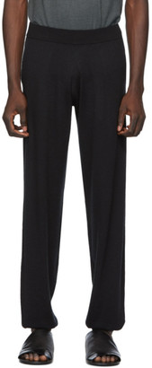 Frenckenberger Black Cashmere Lounge Pants