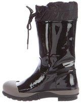 Miu Miu Cap-Toe Mid-Calf Boots