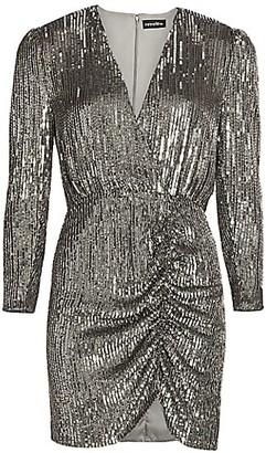 retrofete Sequin Mini Sheath Dress