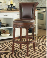 Signature Design by Ashley North Shore Upholstered Swivel Bar Stool