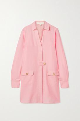 Jonathan Simkhai Woven Jacket - Pastel pink