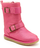 Step & Stride Pink Lara Buckle Boot - Kids