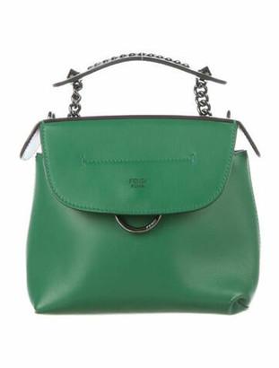 Fendi Mini Back To School Backpack Green