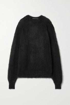 Haider Ackermann Oversized Mohair-blend Sweater - Black