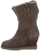 Ash Yorki Shearling-Lined Boots