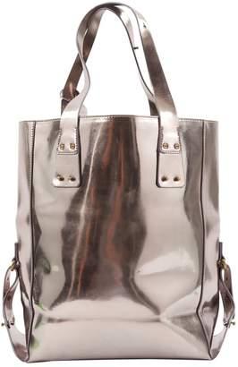 McQ \N Metallic Leather Handbags