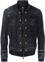DSQUARED2 dual fabric jacket