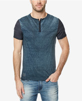 Buffalo David Bitton Men's Colorblocked Deconstructed Henley