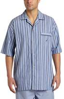 Nautica Men's Sultan Stripe Woven Pajama Top
