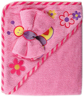 Luvable Friends Pink Starfish Hooded Towel & Washcloth Set
