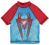 "Spiderman Little Boys' ""Cracked Web"" Rash Guard - , 5-6"