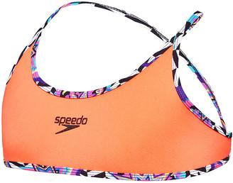Speedo Girls Tie One-Piece Swimsuit
