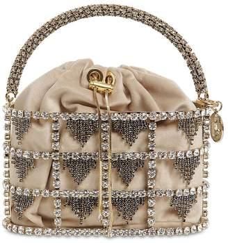 Rosantica Minerva Embellished Bucket Bag