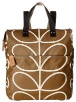 Orla Kiely Matt Laminated Giant Linear Stem Print Backpack