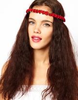 Johnny Loves Rosie Rose Bud Garland Headband